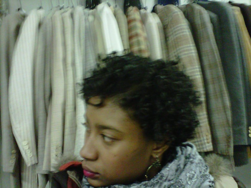 Transitioning from pressed to natural hair: Oct 24, 2010