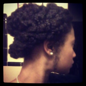 I used the hemp oil on a holiday up-do, that adore!